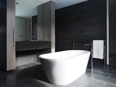 Modern Black Bathroom Bathroom Ideas Black White And Grey Bathrooms