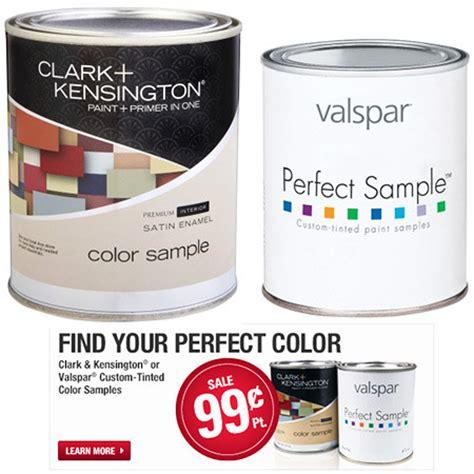 0 99 5 94 valspar clark kensington paint sles