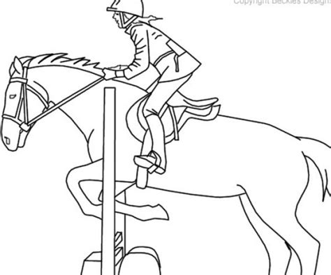 Coloring Pages Of Horses Jumping coloring pages of horses jumping coloring pages