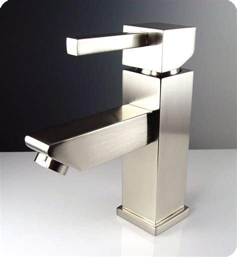 Bathroom Vanity Faucet by Fresca Versa Fft1030bn Single Mount Vanity Bathroom