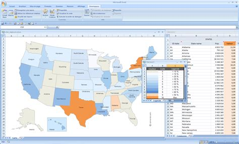 Map Of The United States Excel | maps of united states usa
