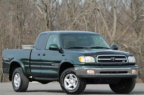 2001 Toyota Tundra Mpg Purchase Used 2001 Toyota Tundra Access Cab Limited 4x4 V8