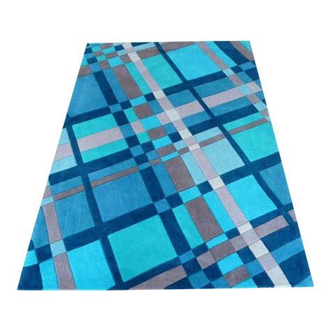 plaid rug blue infinite funky plaid rug carpet runners uk