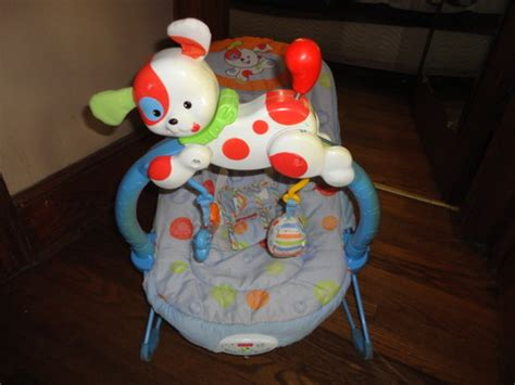 fisher price puppy bouncer bouncers vibrating chairs fisher price boys puppy bouncy seat vibrates