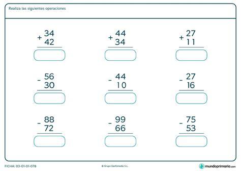 sumas para ninos de primer grado suma 2 digitos para 2 grado sumemos involucrame aprendo