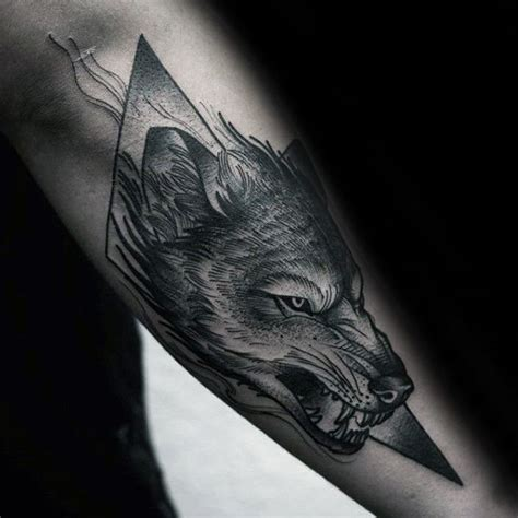 wolf tattoo ideas for men 40 wolf forearm designs for masculine ink