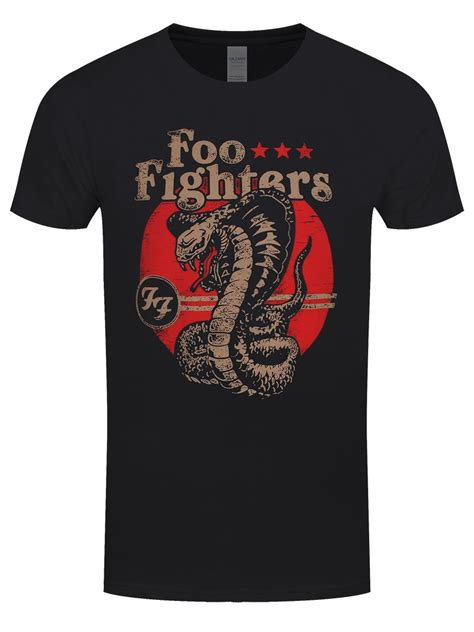 T Shirt Foo Fighters Zero X Store foo fighters snake s black t shirt buy at grindstore