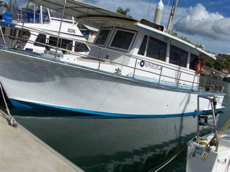 charter boat fishing townsville 1971 sea charter sea charter diesel boat full displacement