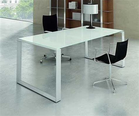 white glass office desk mystique white glass executive desk office reception