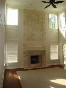 two room fireplace two story great room fireplace s house