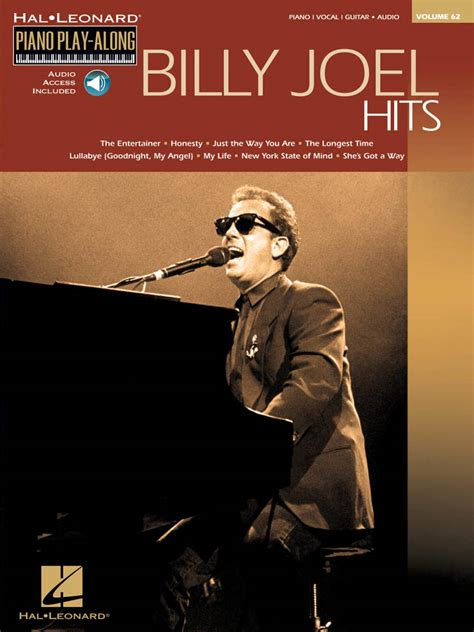 hal leonard billy joel hits piano play  volume