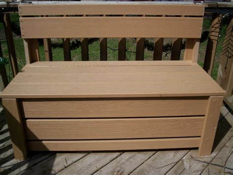 bench storage box bench seat storage box plans
