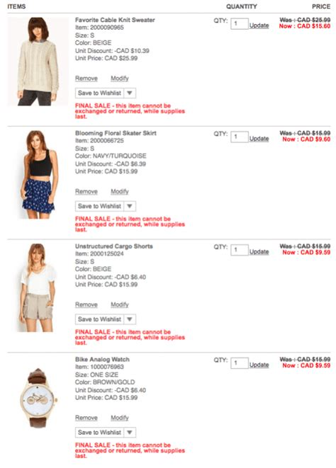 Where Can I Find Forever 21 Gift Cards - forever 21 canada buy more save more sale promo codes save 40 off when you