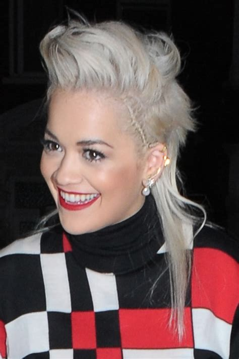 rita ora choppy hairstyles rita ora s hairstyles hair colors steal her style page 6