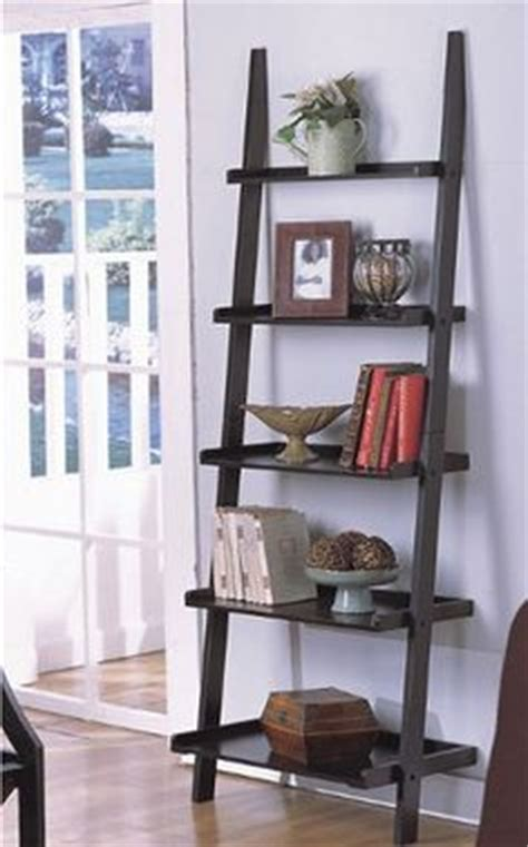 1000 ideas about ladder shelf decor on ladder
