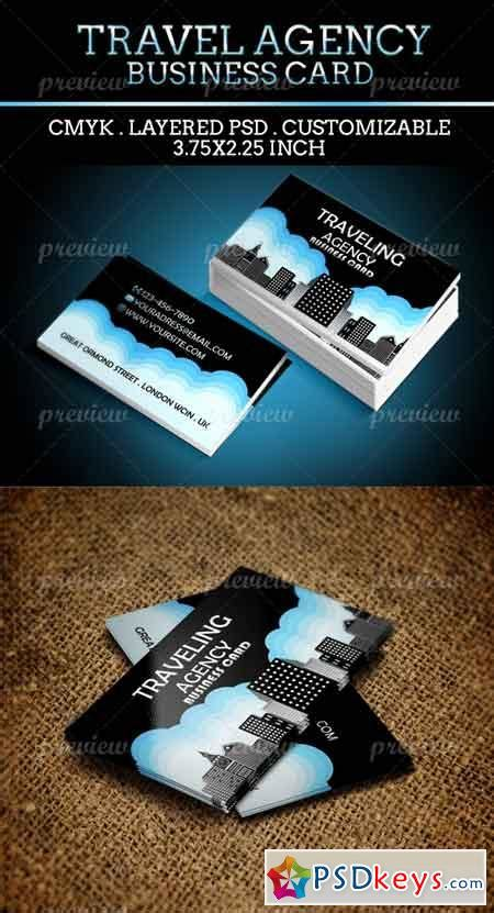 travel business card template with wavy designs traveling agency business card 2081 187 free