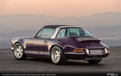 light purple porsche singer atherton is one incredibly purple porsche targa p9xx