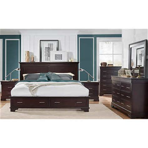 hudson bedroom set hudson 6 storage bedroom set
