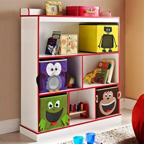 Painted Bedroom Furniture Ideas 10 great and colorful kids bookshelves kids bedroom