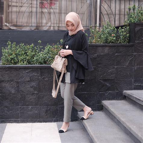 Jilbab Ootd 3 10 ootd kekinian untuk kuliah kasual kece