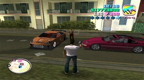 gta vice city mod game modding grand theft auto vice city mod version with 100 save game