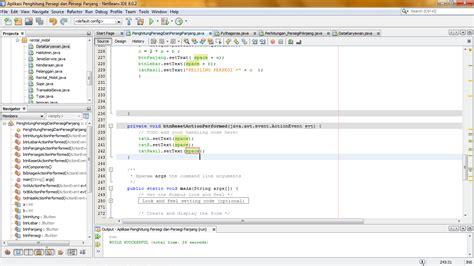 Tutorial Persegi Source Code Menghitung Luas Atau Keliling Persegi Dan