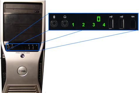 Dell Diagnostic Lights by A Reference Guide To The Precision Workstation Diagnostic
