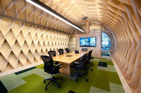 city room creative contemporary office space in california blends creativity with indoor green