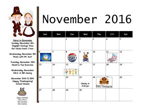 Care Calendar Eccs Child Care Calendar