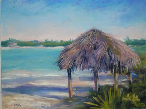painting my world tiki hut in the bahamas