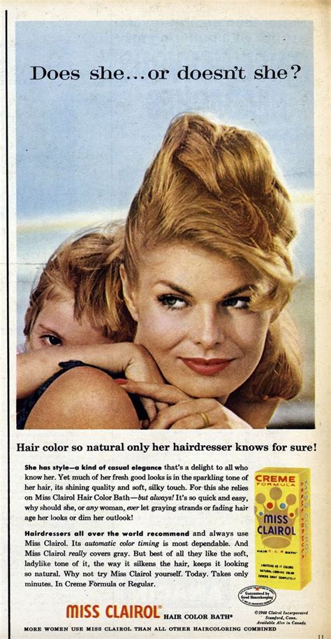 vintage clairol ads on pinterest clairol hair color vintage clairol ads on pinterest clairol hair color top