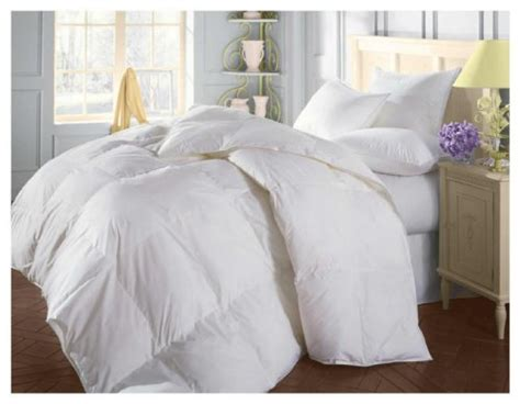 natural comfort down alternative comforter natural comfort soft and luxurious 310tc sateen white down