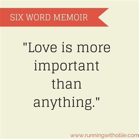 6 word memoirs about life running with ollie six word memoir or epitaph blogember