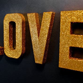 decorative letters love free standing glitter letters home best decorative standing letters products on wanelo