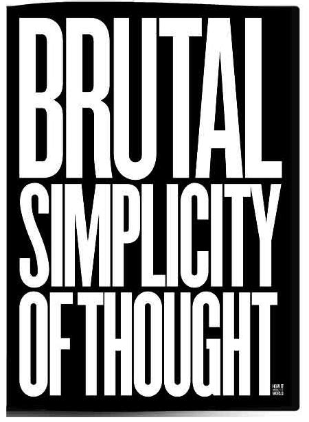 libro min the new simplicity brutal simplicity of thought moove magazine