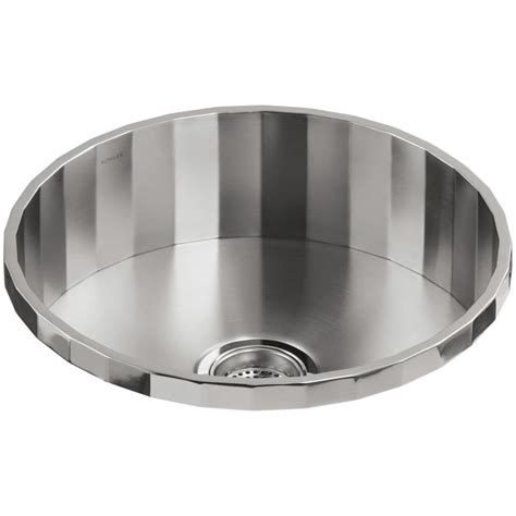 Shop Kohler Brinx Stainless Steel Drop In Commercial