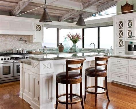 the coastal kitchen a coastal kitchen tiles backsplash brings the inside