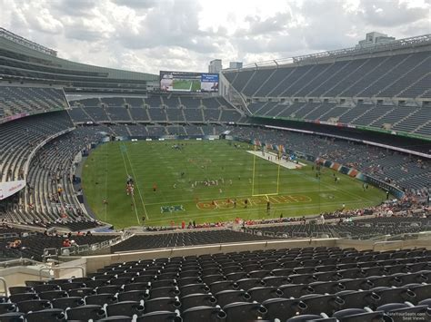 soldier field sections soldier field section 354 chicago bears rateyourseats com