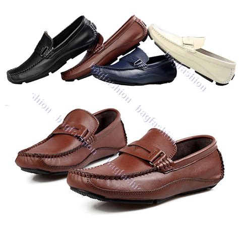 bag fashion 16474 casual s leather shoes driving