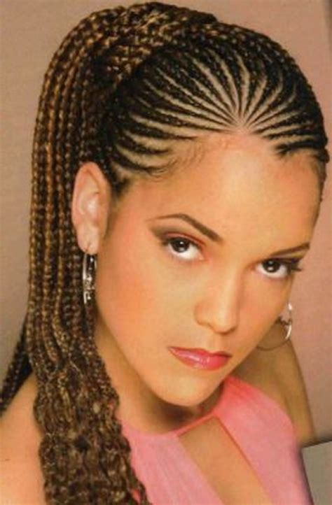 Braid Hairstyles For Black Hair Pictures by Hair Braiding Styles For Black Cornrows With Regard