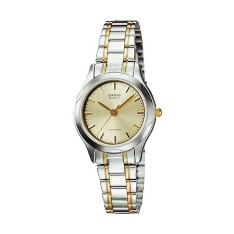 Casio Ltp 1169 Sg harga casio analog ltp 1169n 9adf gold jam tangan wanita pricenia