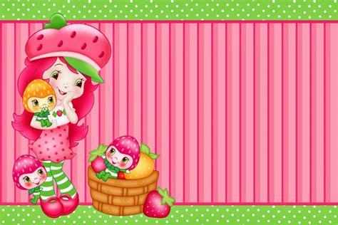 Strawberry Shortcake Free Printable Birthday Invitations Strawberry Shortcake Invitation Template Free