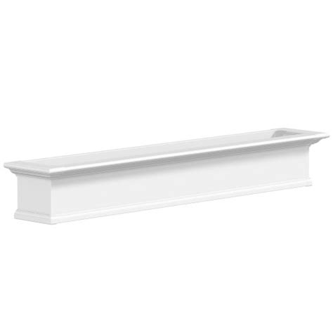 mayne 4826w window box planter 6 foot white - 6 Foot Window Box