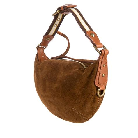 Louis Vuitton Onatah Pm by Louis Vuitton Suede Onatah Pm Cacao New Luxity