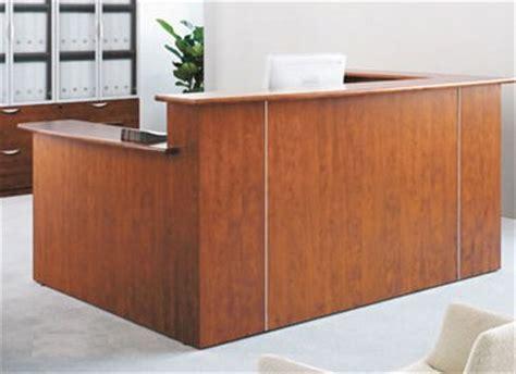 multi joint desk l custom multi level l reception desk w right low counter