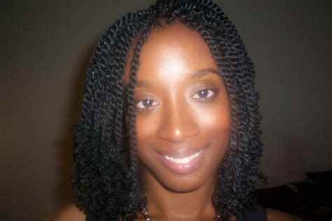 short individual twists navy kinky twists sengalese medium hair styles ideas 43649