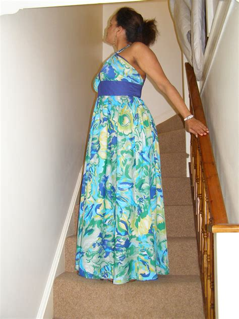 Flowery Dress Maxi flowery maxi dress sewing projects burdastyle