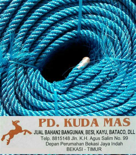 Harga Tali Tambang Goni Per Meter jual tali tambang plastik walrus 8 mm 1 meter pd kuda