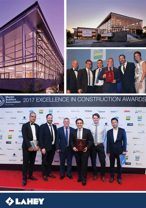 Mba Awards 2017 Adelaide by Lahey News Lahey Constructions