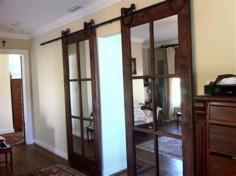 Inside Sliding Barn Door Residential Interior Barn Doors Home Interior Design